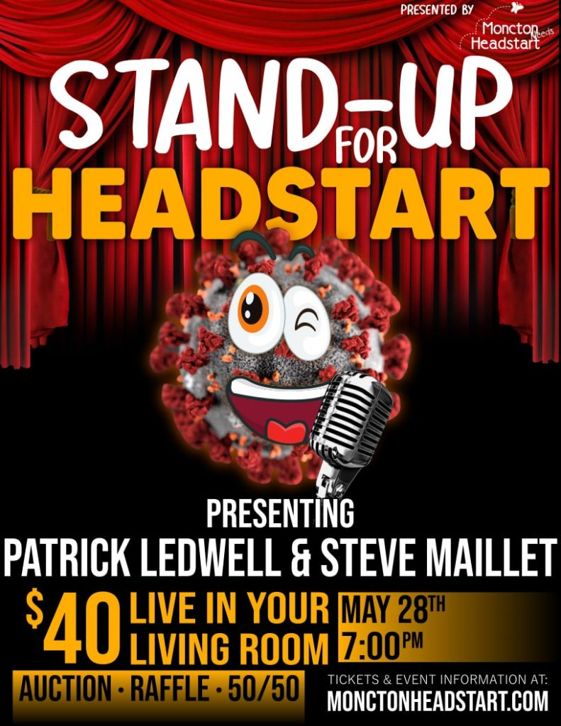 Stand-Up for Headstart : May 28, 2020 at 7:00 pm