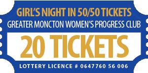 50-50 Ticket 20