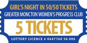 50-50 Ticket 5